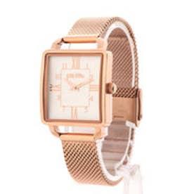 RETRO TIME メッシュベルトウォッチ/腕時計 (ピンクゴールド)
