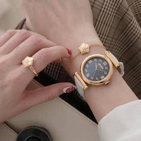 MOD PRINCESS レザーウォッチ/腕時計 (ホワイト)