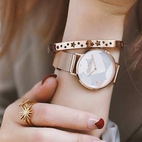 STARGAZE バングル&ウォッチ/腕時計セット (ピンクゴールド)