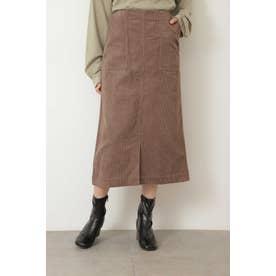 ◆コーディロイナロースカート グレージュ
