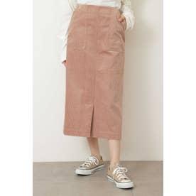 ◆コーディロイナロースカート ピンク