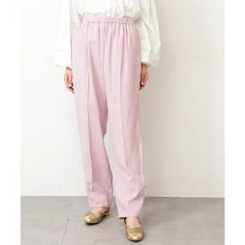 ◆リラックスペグトップパンツ ピンク