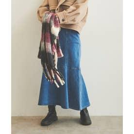 ◇《Sシリーズ対応商品》パネル切替マーメイドデニムスカート インディゴ1