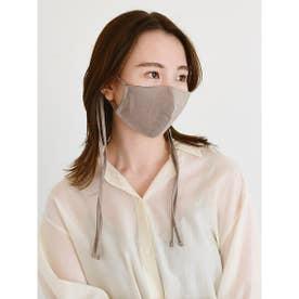 リネン混ストラップマスク (MOC)