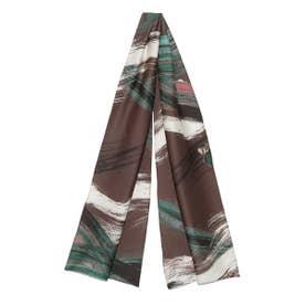 オリジナル柄スカーフ (BRW)
