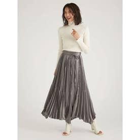 割繊チンツプリーツスカート (KKI)