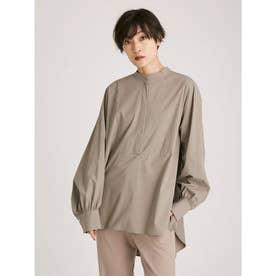 バンドカラーバックデザインシャツ (GRY)