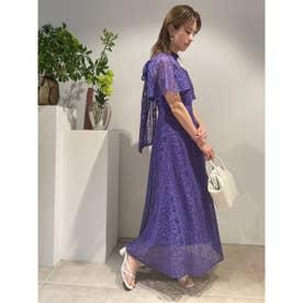 フローティング刺繍ドレス (PPL)