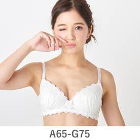 CottonDrageeコットンドラジェペアブラジャーA-Gカップ (オフホワイト)【返品不可商品】