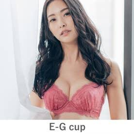 GRACE Ordinary らくらく補正グレースオーディナリー コーディネートブラジャー E65-G90カップ【返品不可商品】 (ローズ)