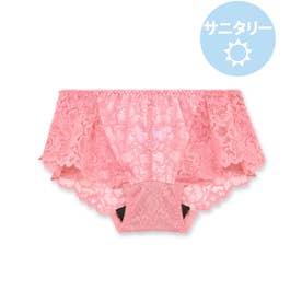 LacyQueen レーシークィーン コーディネート総レースサニタリー【返品不可商品】 (ピンク)