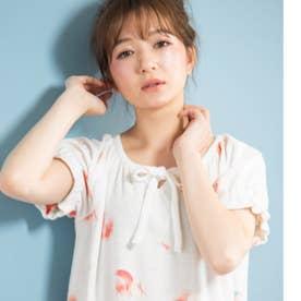 one-piece半袖ワンピース (ホワイト)
