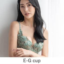 GRACE Grande らくらく補正グレースグランデ コーディネートブラジャー E65-G90カップ 【返品不可商品】(セージグリーン)