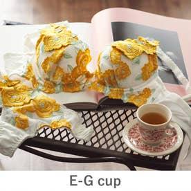 GRACE Grande らくらく補正グレースグランデ コーディネートブラジャー E65-G90カップ 【返品不可商品】(イエロー)