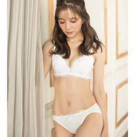 Light Flower ライトフラワー ブラ&ショーツセット B65-G75カップ 【返品不可商品】 (ホワイト)