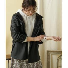 エコレザーCPOジャケット (ブラック)