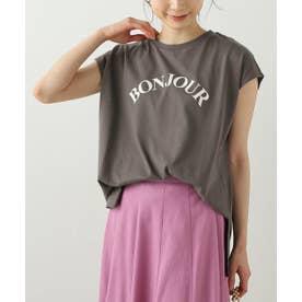 フレンチスリーブロゴTシャツ (スミクロ)