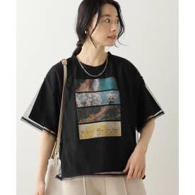 チュール重ねTシャツセット (黒)
