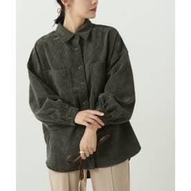 ボリュームスリーブシャツジャケット (スミクロ)