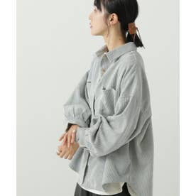 ボリュームスリーブシャツジャケット (ミント)