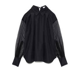 ストライプシャツ (BLK)