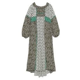 2WAYパッチワークドレス (WHT)