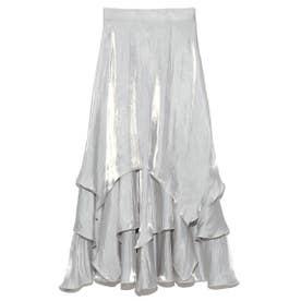 ランダムヘムシャイニースカート (LBLU)