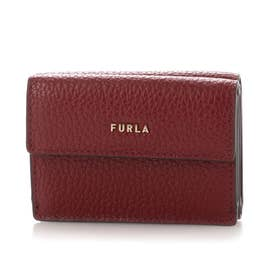 BABYLON S COMPACT WALLET TRIFOLD (CILIEGIA d)