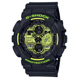 【G-SHOCK】Black and Yellow Series / GA-140DC-1AJF / Gショック (ブラック×イエロー)