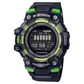 【G-SHOCK】G-SQUAD(ジー・スクワッド) /  GBD-100SM-1JF (ブラック×グリーン)