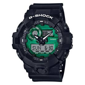 【G-SHOCK】Black and Green Series / GA-700MG-1AJF (ブラック×グリーン)