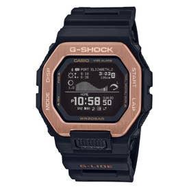 【G-SHOCK】G-LIDE(Gライド) / スマートフォン連携機能 / GBX-100NS-4JF (ブラック×ローズゴールド)