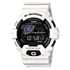 【G-SHOCK】高輝度LED+電波ソーラー / GW-8900A-7JF / Gショック (ホワイト×ブラック)