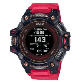 【G-SHOCK】G-SQUAD(ジー・スクワッド) / GBD-H1000シリーズ / 心拍計+GPS機能搭載モデル / GBD-H1000-4A1JR / Gショック (レッド×ブラッ