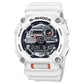 【G-SHOCK】ヘビーデューティ / GA-900AS-7AJF (ホワイト×シルバー)