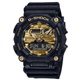 【G-SHOCK】ヘビーデューティ / GA-900AG-1AJF (ブラック×ゴールド)