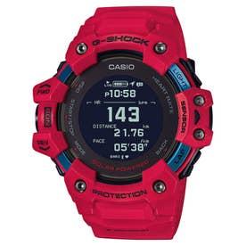 【G-SHOCK】G-SQUAD(ジー・スクワッド) / GBD-H1000シリーズ / 心拍計+GPS機能搭載モデル / GBD-H1000-4JR / Gショック (レッド)