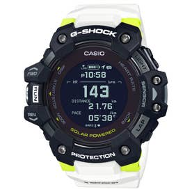 【G-SHOCK】G-SQUAD(ジー・スクワッド) / GBD-H1000シリーズ / 心拍計+GPS機能搭載モデル / GBD-H1000-1A7JR / Gショック (ブラック×シル