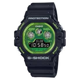 【G-SHOCK】DW-5900シリーズ / DW-5900TS-1JF (ブラック×グリーン)