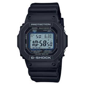 【G-SHOCK】スクエアフェイス / 電波ソーラー / GW-M5610U-1CJF / Gショック (ブラック×ブルー)