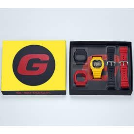 【G-SHOCK】5600シリーズ / 替えバンドと替えベゼルセット / DWE-5600R-9JR / Gショック (イエロー×ブラック)