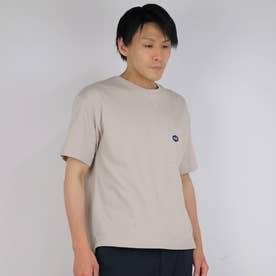 スペインコットンクルーネックTシャツ (18ベージュ)