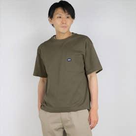 スペインコットンクルーネックTシャツ (46カーキ)