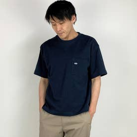 スペインコットンクルーネックTシャツ (67ネイビー)