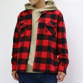 PENDLETON チェックオープンカラーシャツ (01レッド)