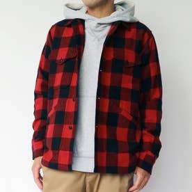 PENDLETON CPOチェックシャツジャケット (01レッド)