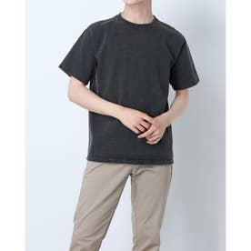 メンズ 半袖Tシャツ SHORT SLEEVE HEAVY CREW NECK TEE GOST2109P (ブラック)