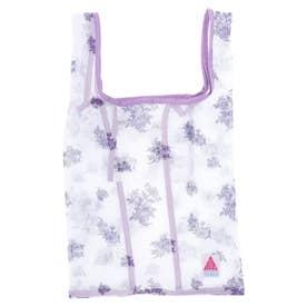 ・フラワーptメッシュバッグ (Purple)