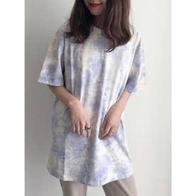 SUGAR SPOON タイダイワイドTシャツ (Purple)