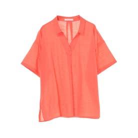 コットンスラブスキッパーシャツ (Orange)